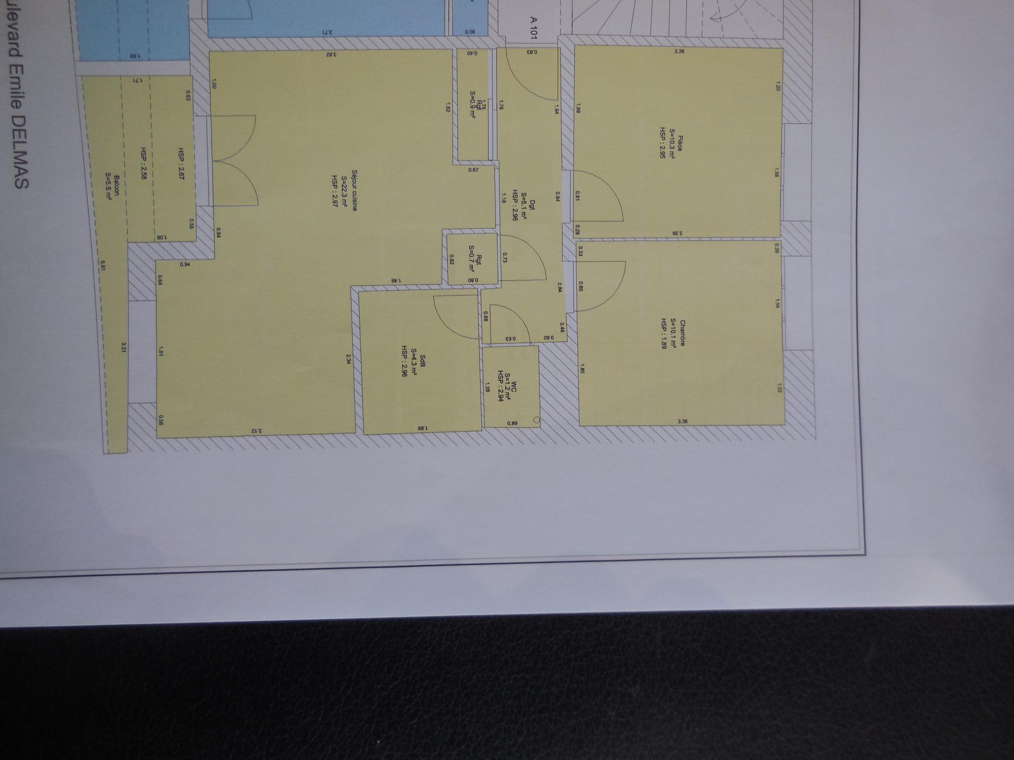 appartement la rochelle LA ROCHELLE - APPARTEMENT DE TYPE 3 - LA PALLICE