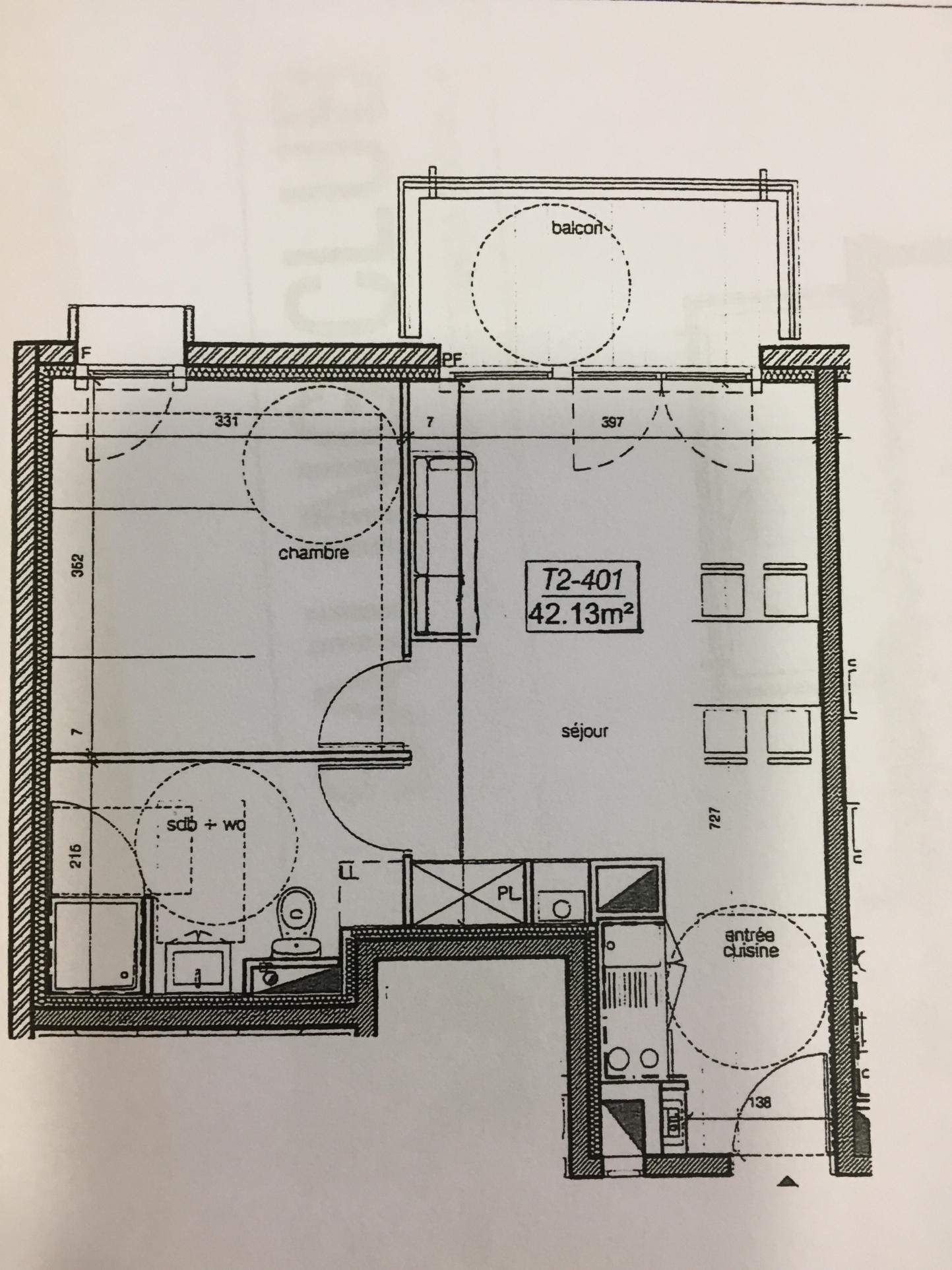 appartement la rochelle À La Rochelle, Les Minimes avec terrasse dernier étage à ven