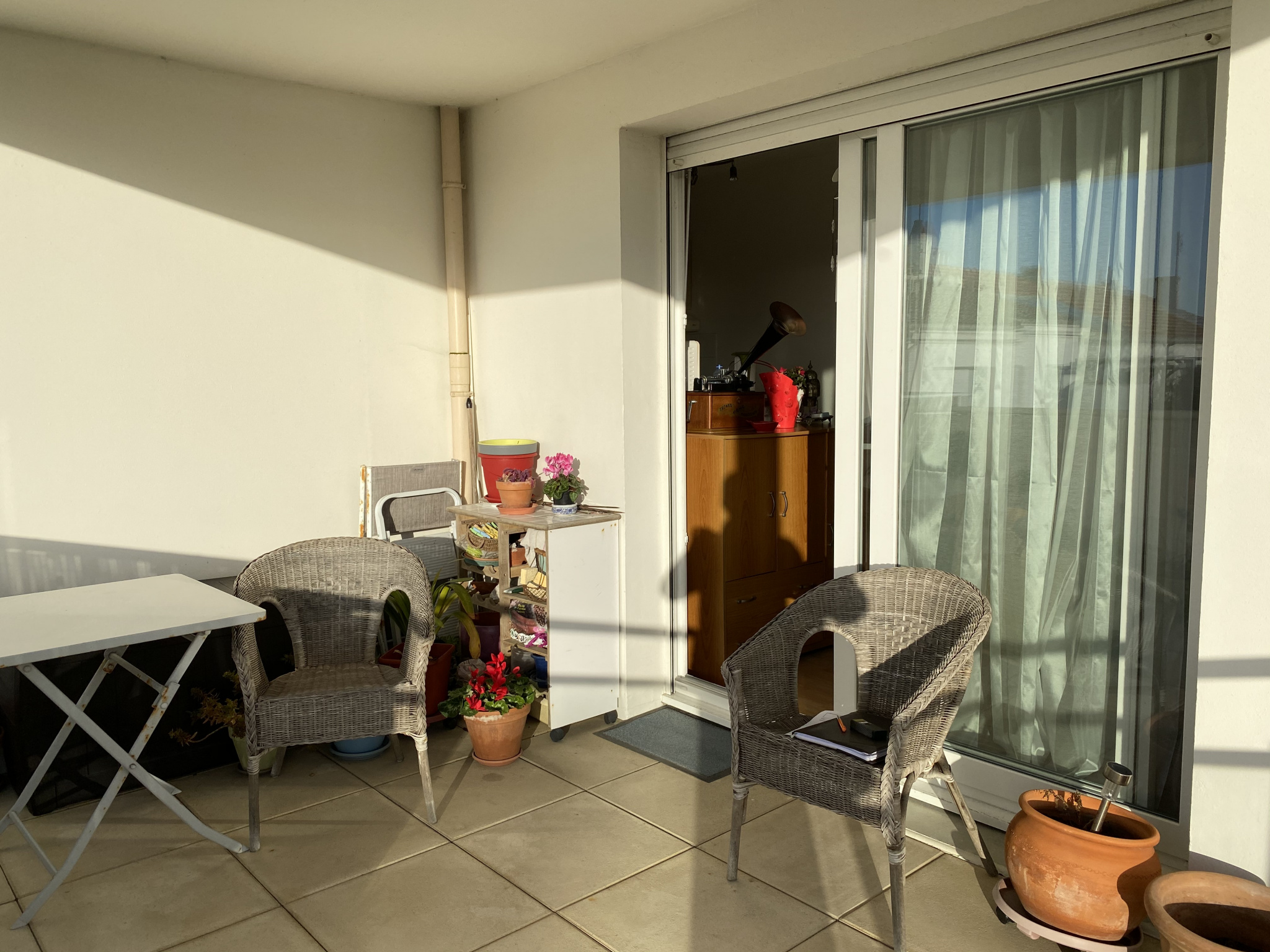 appartement la rochelle LA ROCHELLE - TYPE 2 AVEC DEUX TERRASSES