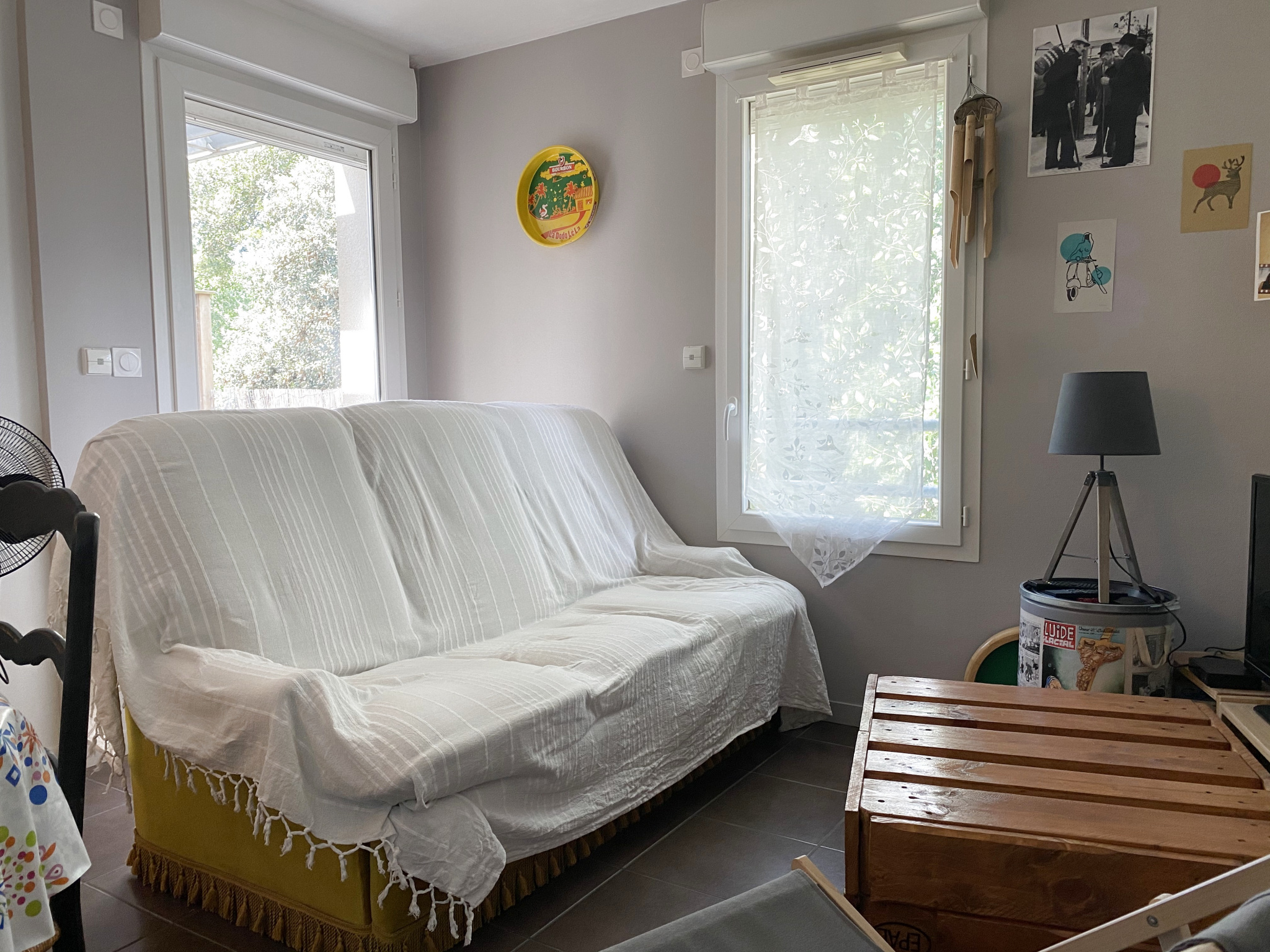 appartement la rochelle TYPE 2 AVEC TERRASSE ET GARAGE