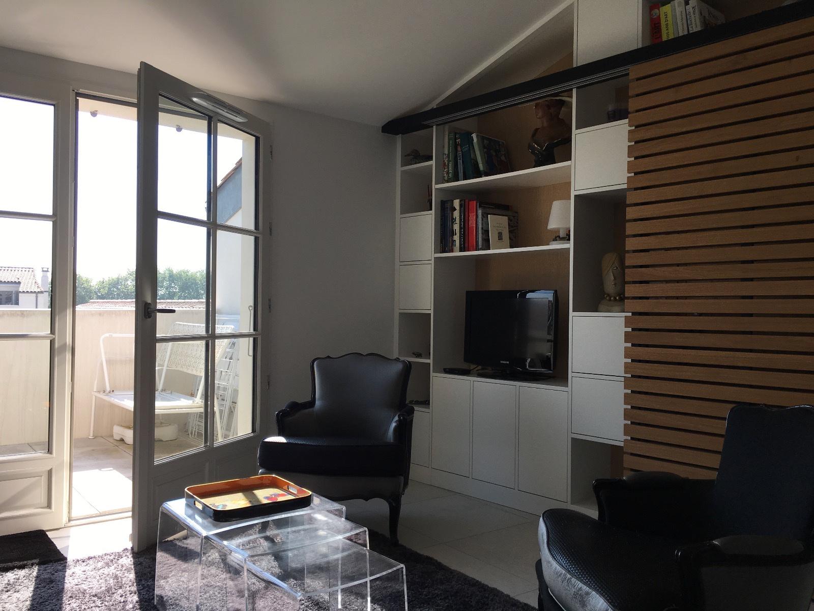 appartement la rochelle LA ROCHELLE - ENTRE GARE ET MARCHE CENTRAL.